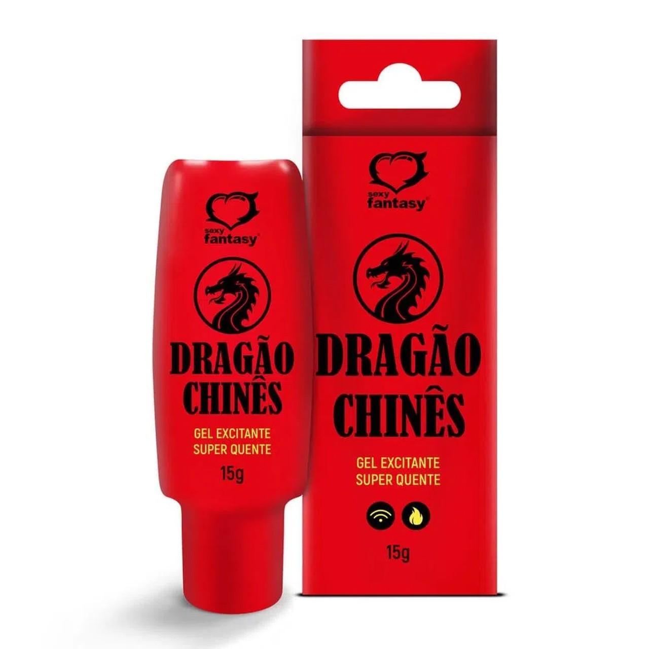 Dragão Chinês Lubrificante Excitante Super Quente 15g - Sexy Fantasy