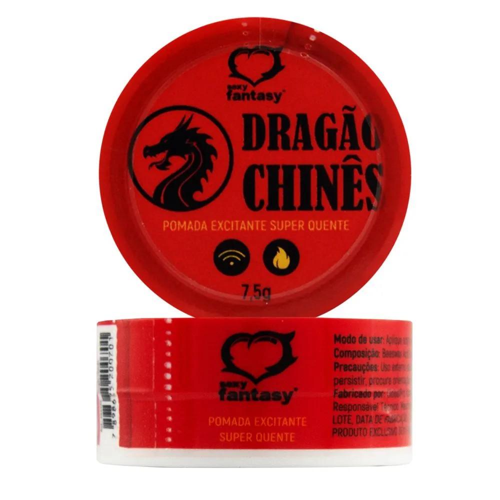 Dragão Chinês Pomada Excitante 7,5g - Sexy Fantasy