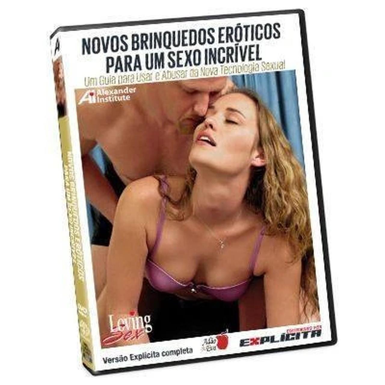 DVD Novos Brinquedos Eróticos para um Sexo Incrível
