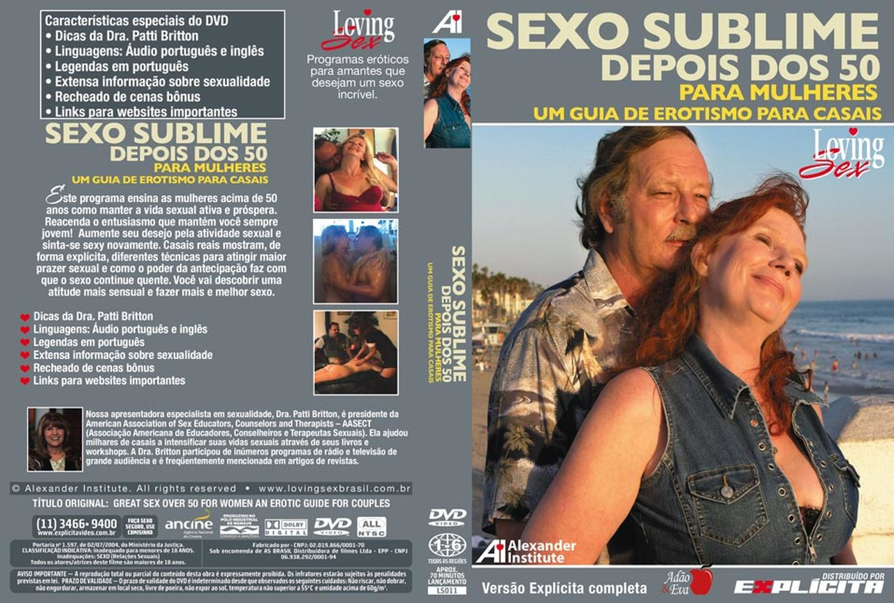 DVD Sexo Sublime Depois dos 50 Para Mulheres