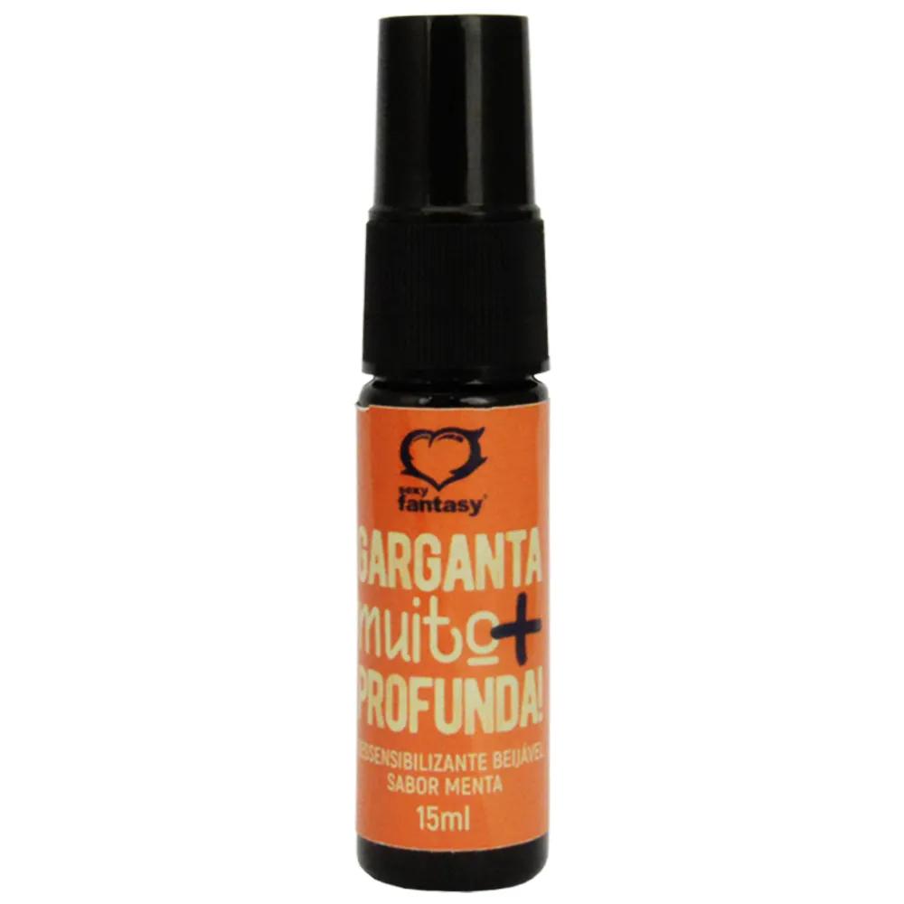 Spray Dessensibilizante Garganta Muito Mais Profunda - Sexy Fantasy - 15ml