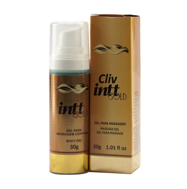 Gel Anestésico Anal Cliv Gold - Intt