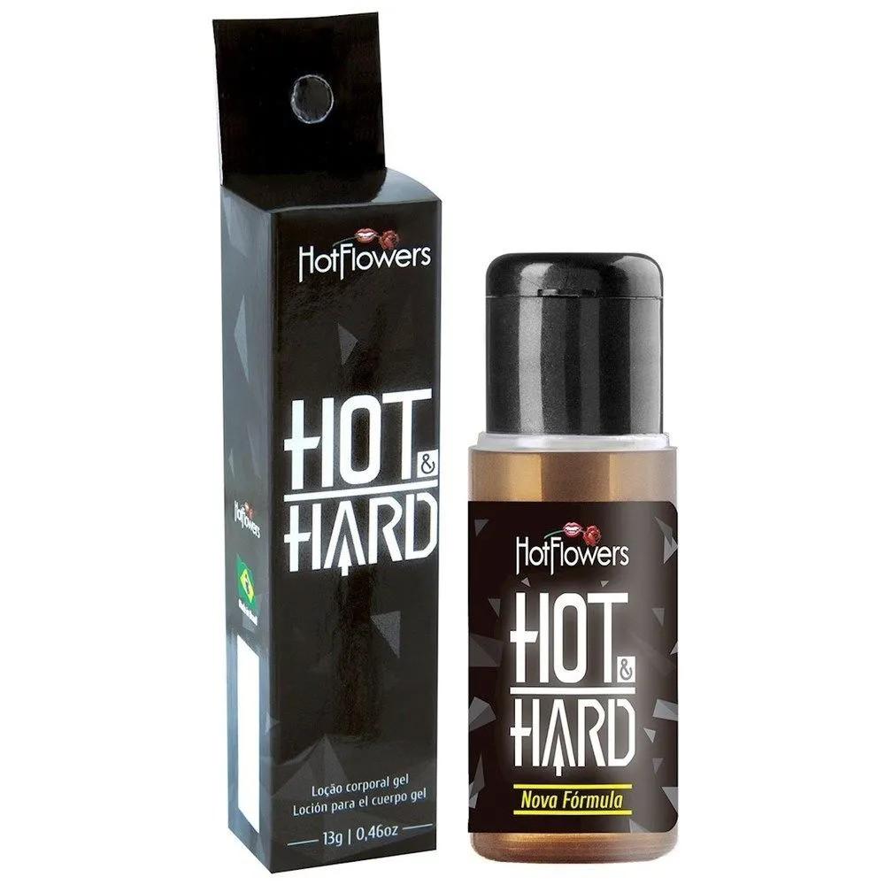 Gel Prolongador de Ereção Hot Hard - Hot Flowers 12 g