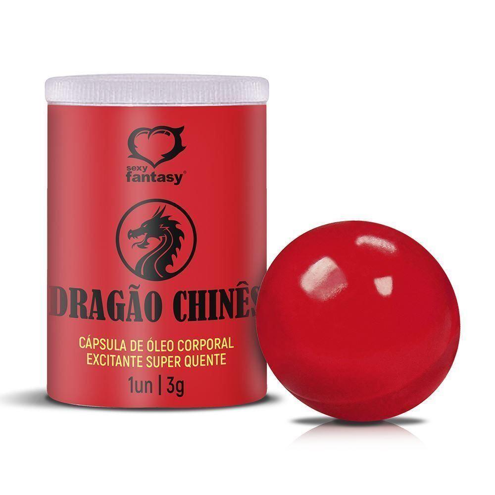 Hot Ball - Bolinha Explosiva Dragão Chinês - Sexy Fantasy