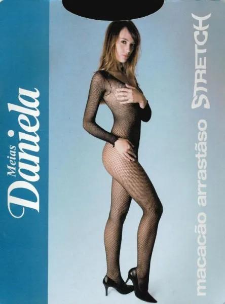 Macacão Arrastão Stretch - Daniela