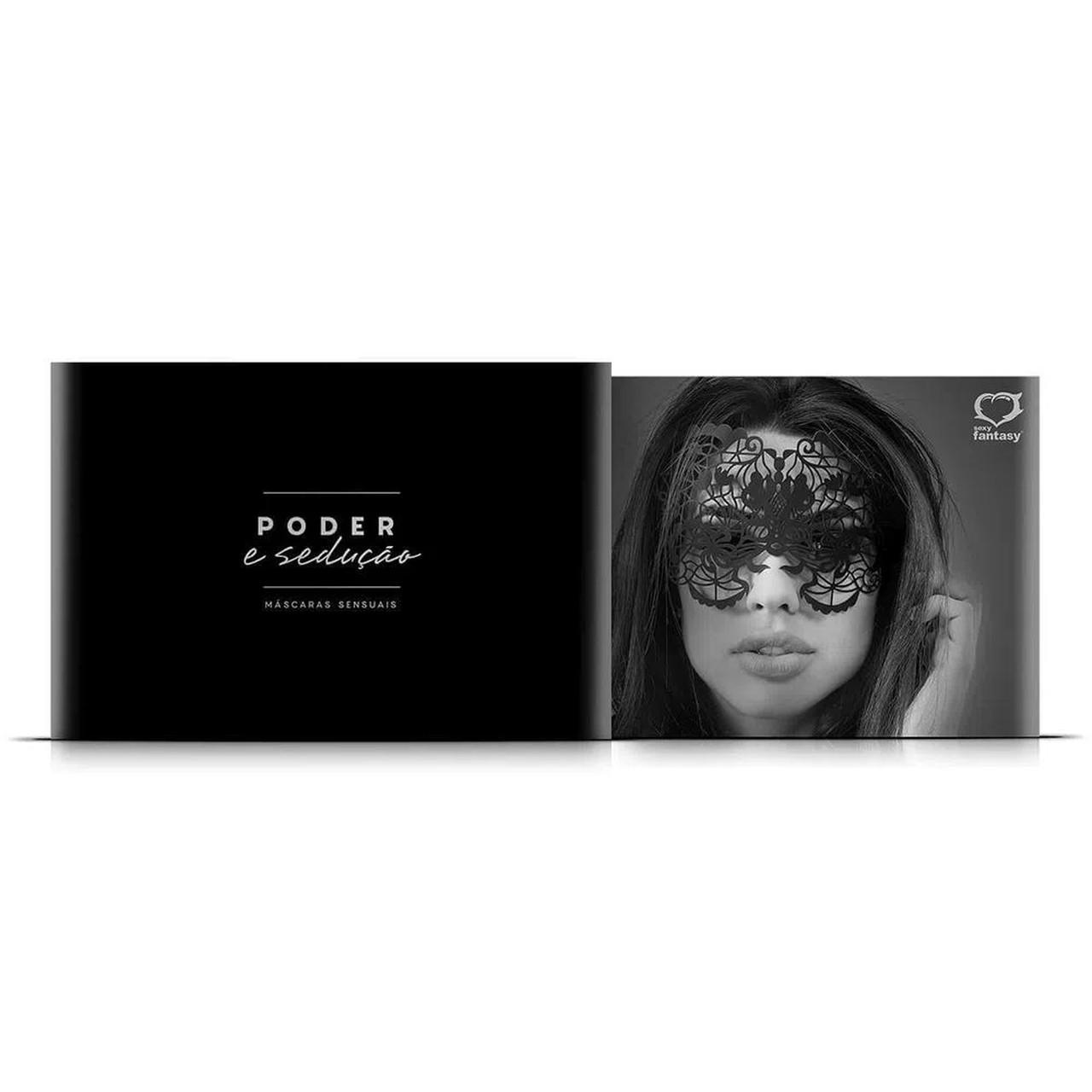 Máscara Poder e Sedução - Sexy Fantasy