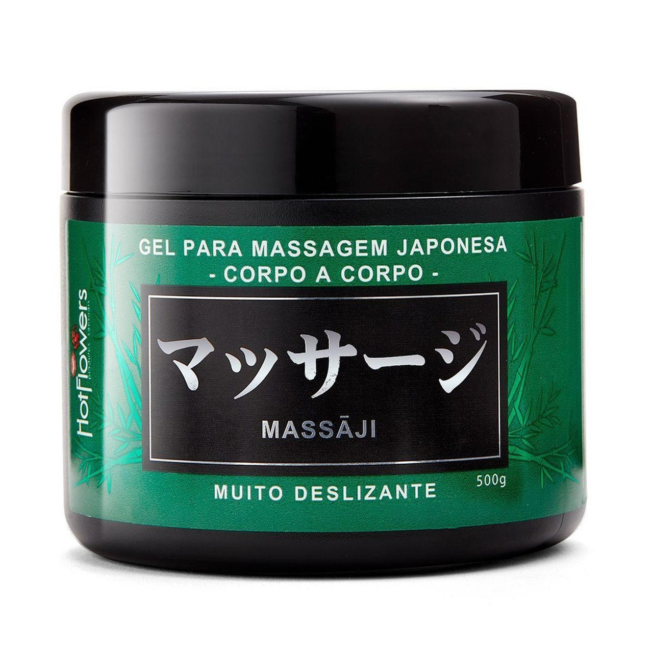 Massaji Gel Massagem Nuru Deslizante Corpo a Corpo - Hot Flowers 500g