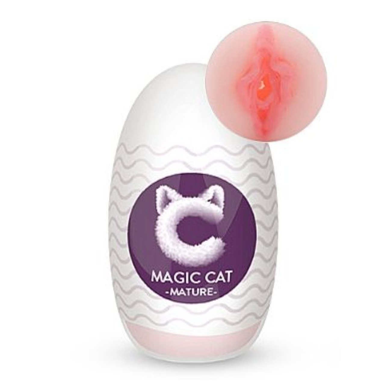 Masturbador Egg Mature - Masturbador Vagina - Magic Cat