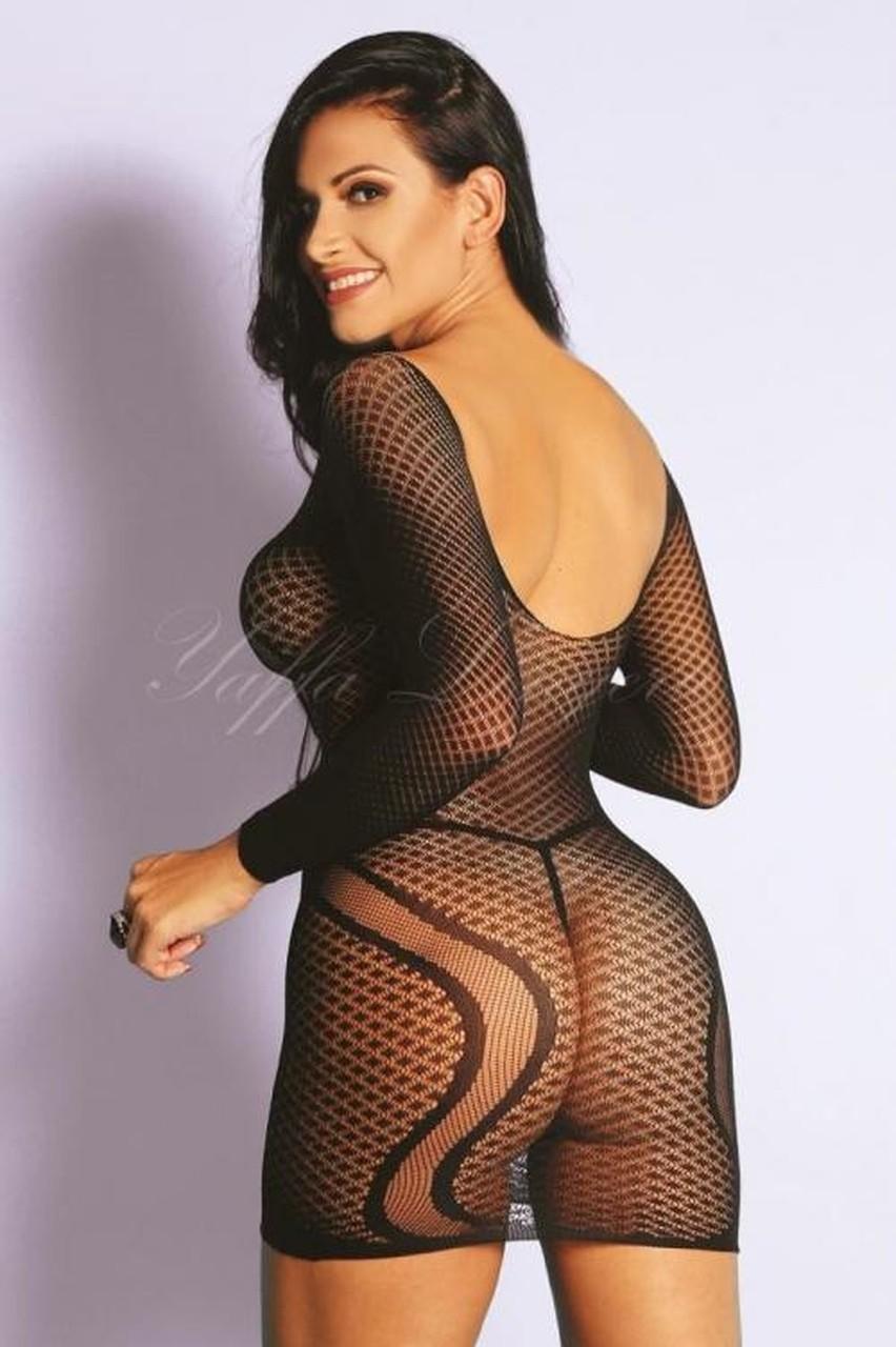 Mini Vestido Com Mangas - Yaffa