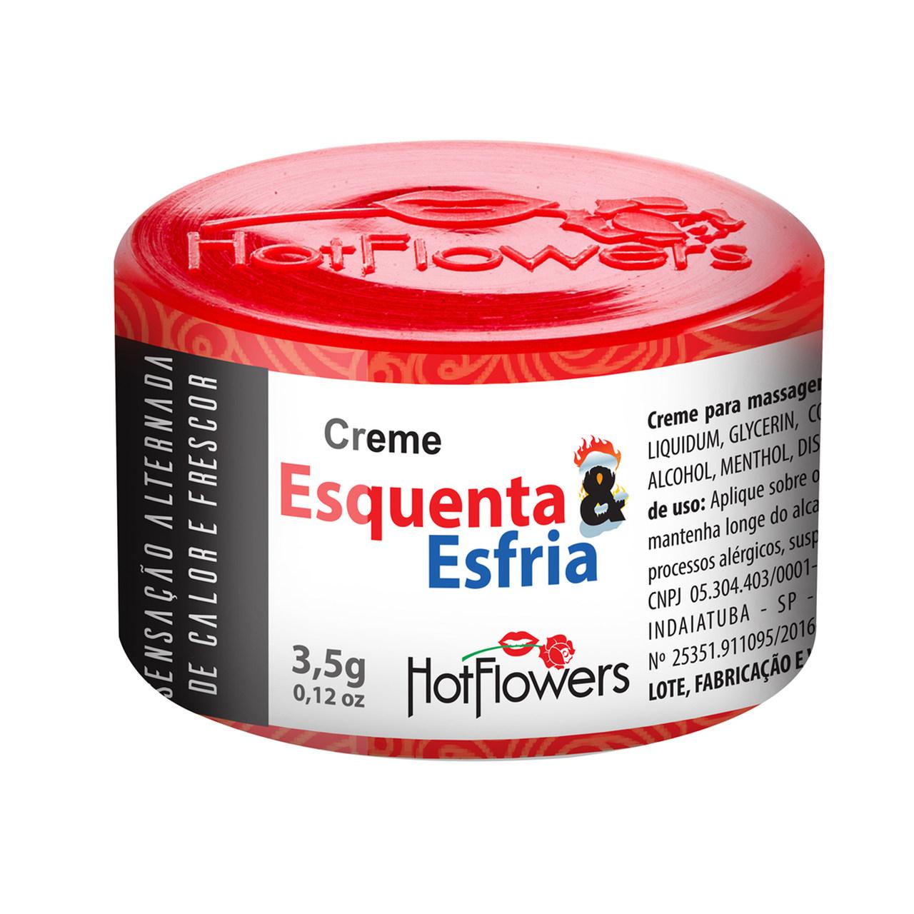 Pomada Esquenta&Esfria - Hot Flowers