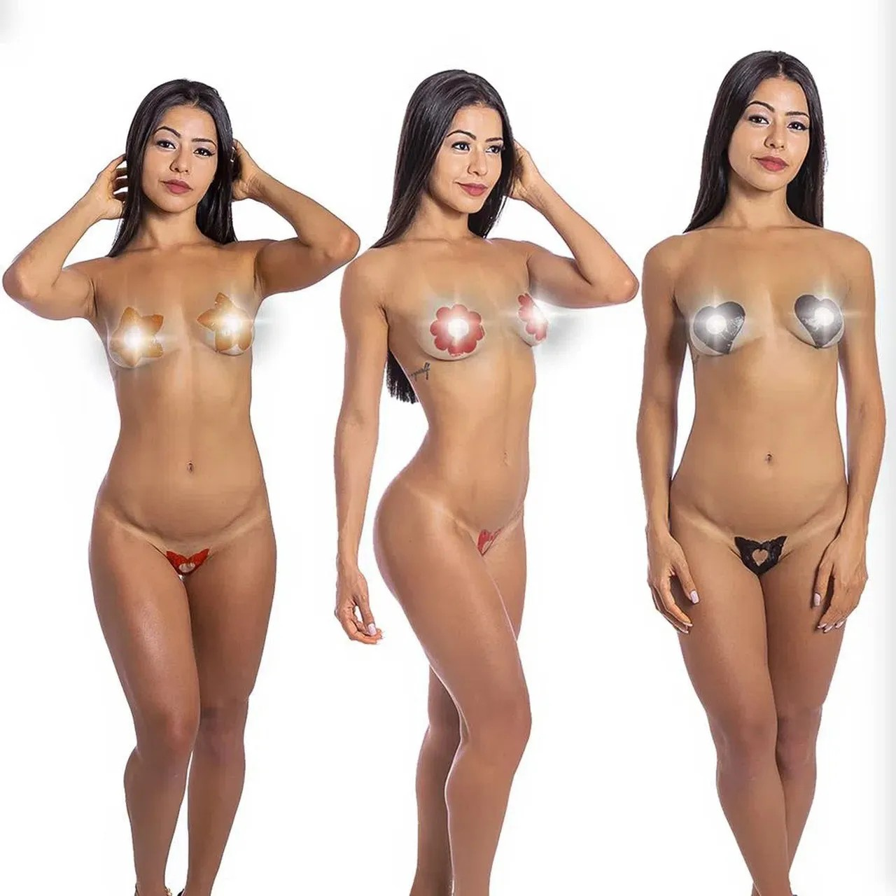 Tapa Sexo Comestível Coração Karamela  - Hot Flowers