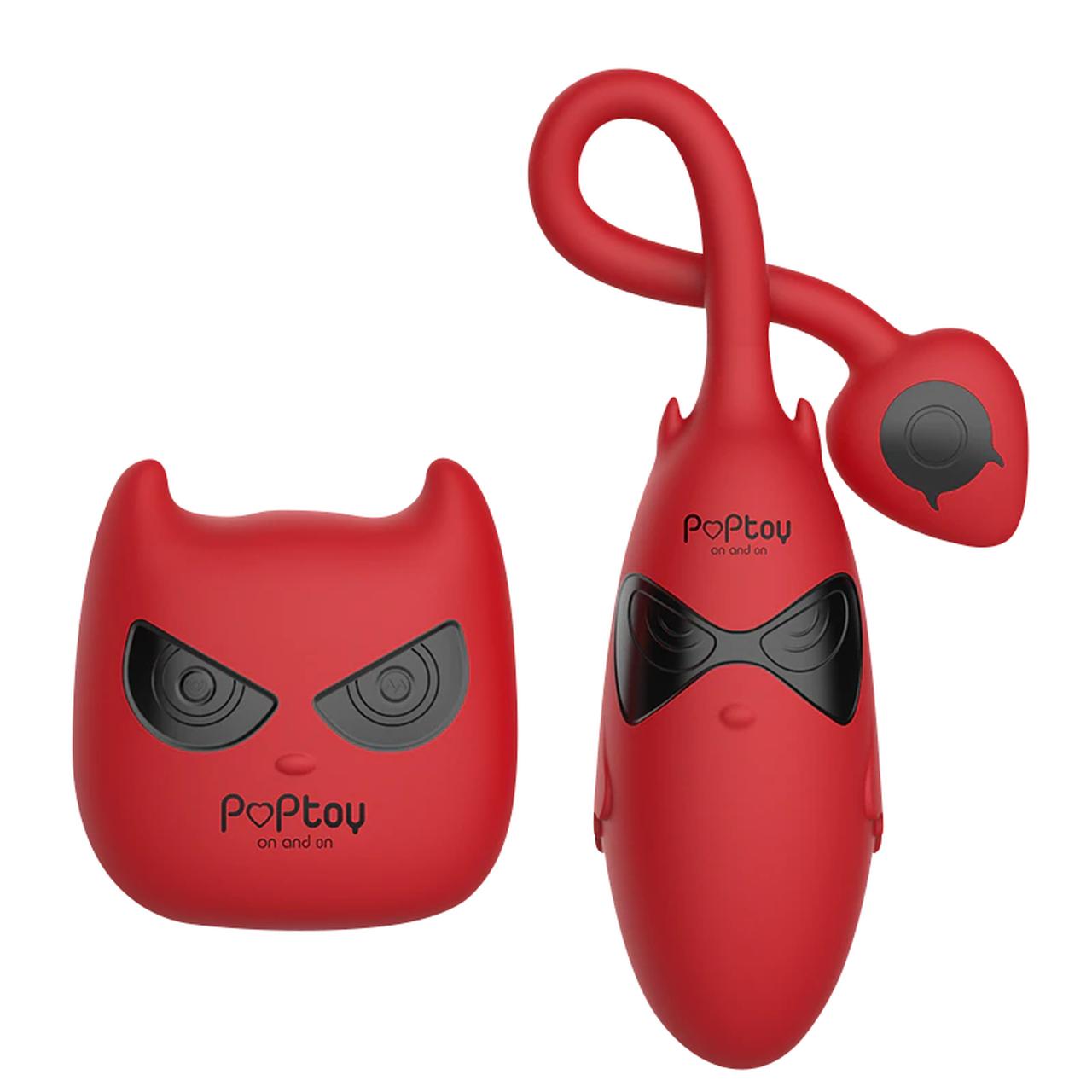 Vibrador Cápsula Com Controle Remoto - PopToy Little Devil
