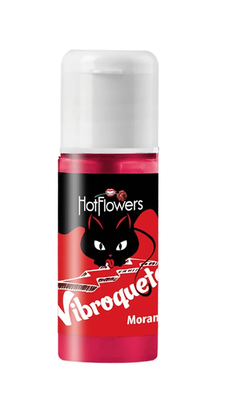 Vibroquete - Vibrador Líquido Para Sexo Oral -  Hot Flowers