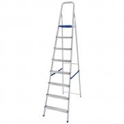 Escada Alumínio 8 Degraus - Mor