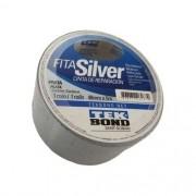 Fita Silver Tape 48mm x 5 Metros - Tekbond