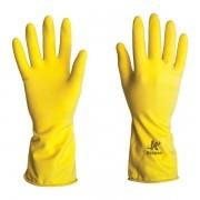 Luva de Látex Uso Geral Amarela
