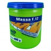 Massa F12 Branca para Madeira 400g - Viapol