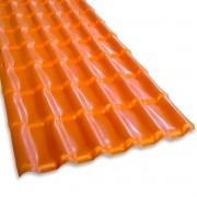 Telha PVC Plan Cerâmica 3,30x0,88m - Fortlev