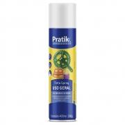 Tinta Spray Branco Fosco 400ml - Pratik