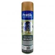 Tinta Spray Cobre Metálica Secagem Rápida 400ml - Pratik
