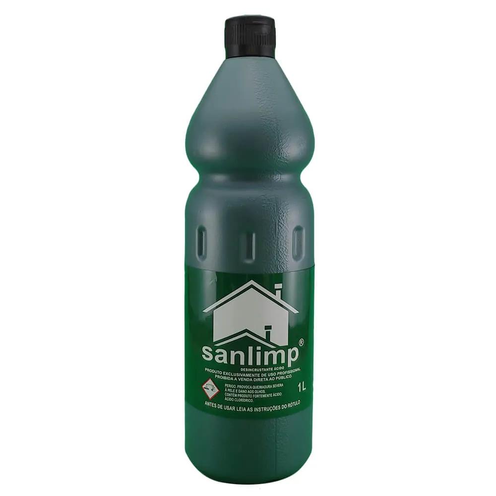 Ácido Muriático Limpa Piso 1 Litro - Sanlimp