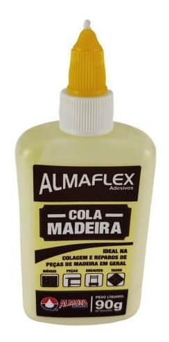 Cola Para Madeira 90g - Almaflex