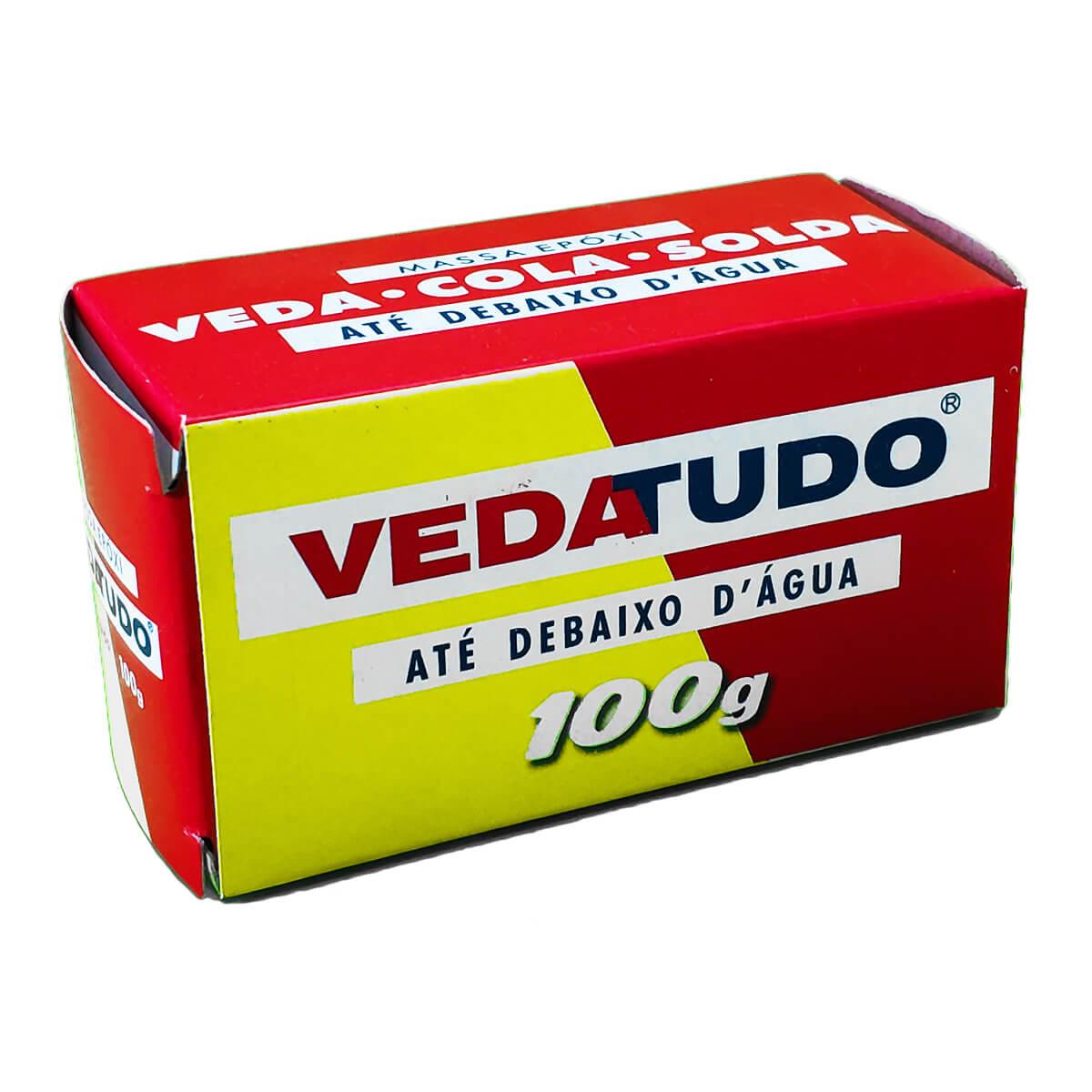 Cola Veda Tudo Epóxi Multiuso 100g