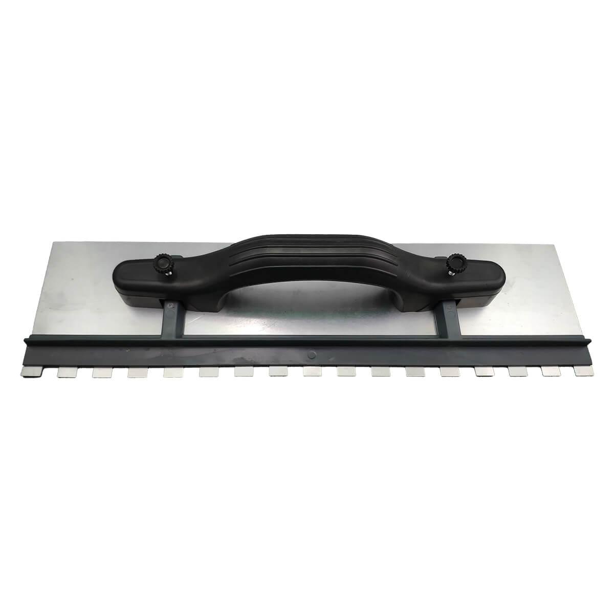 Desempenadeira Aço Dentada com Regulagem 43x12cm