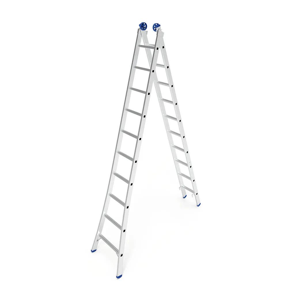 Escada Extensiva de Alumínio 2x10 - Mor