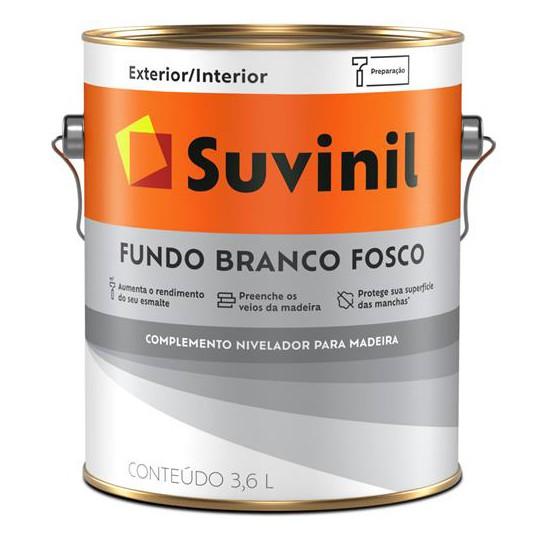 Fundo Nivelador Branco Fosco 3,6 Litros - SUVINIL