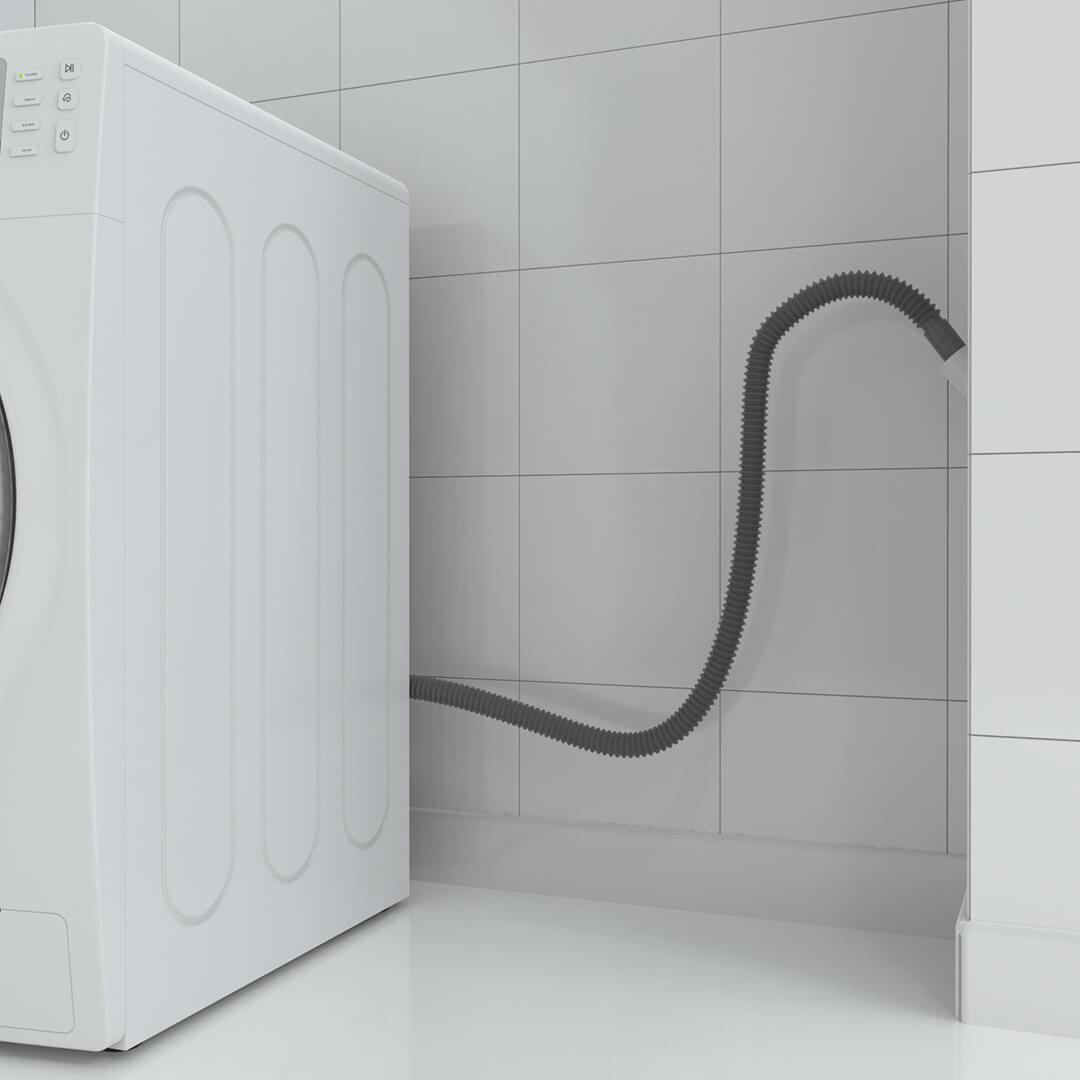 Mangueira de Saída Máquina de Lavar e Tanquinho 2,20m - Blukit