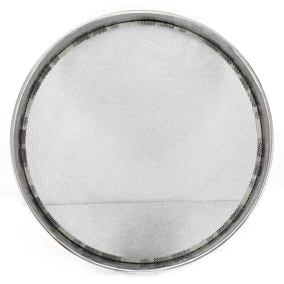 Peneira Fubá Média 30cm Tela em Aço Soldada