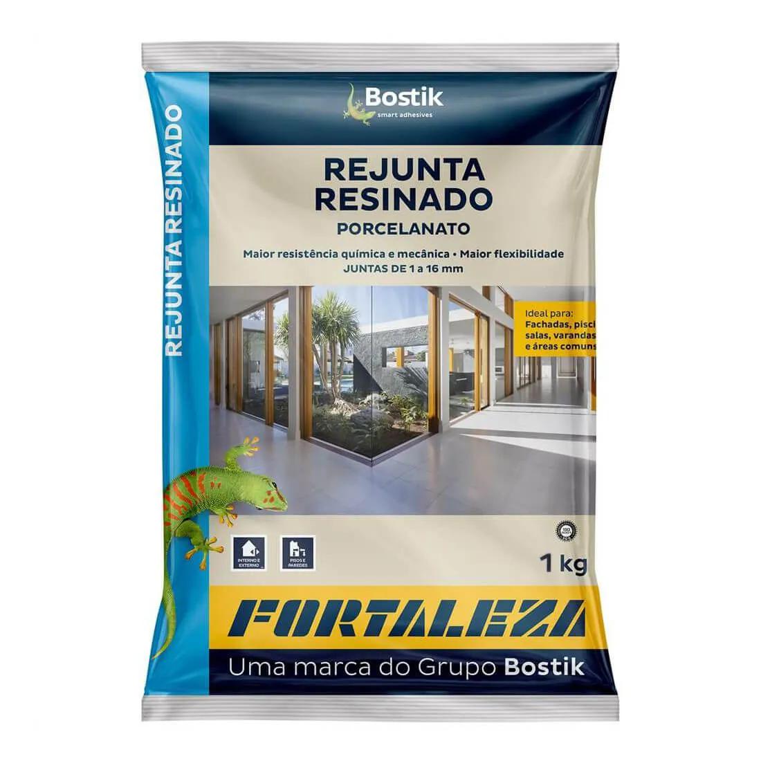 Rejunte Resinado Porcelanato 1 kg - FORTALEZA