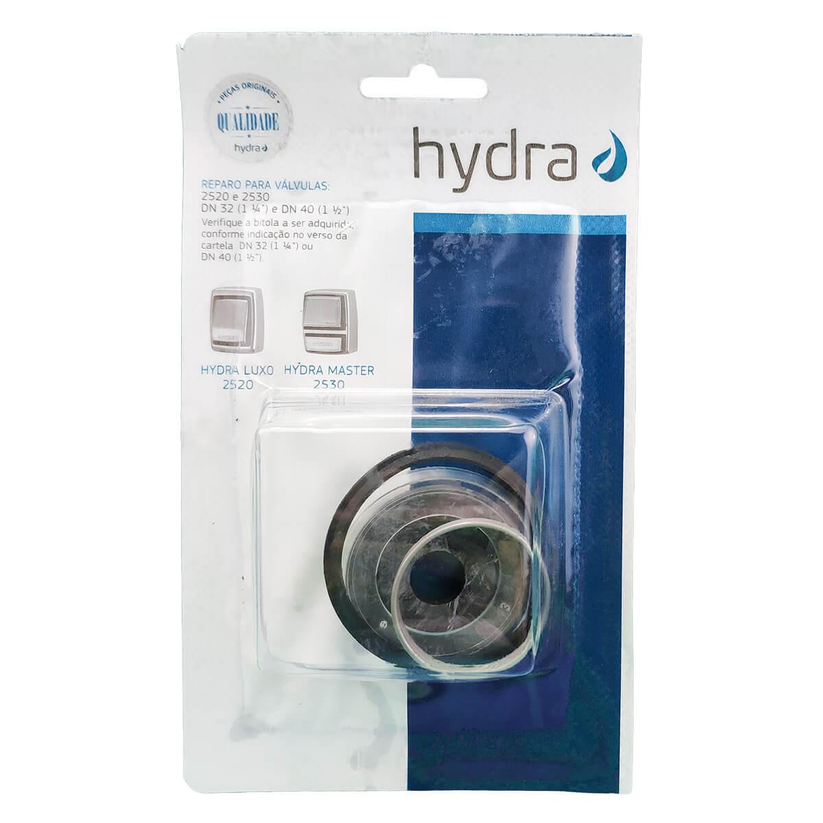 """Reparo Válvula de Descarga Hydra Luxo 2520/2530 1.1/2"""" - Deca"""