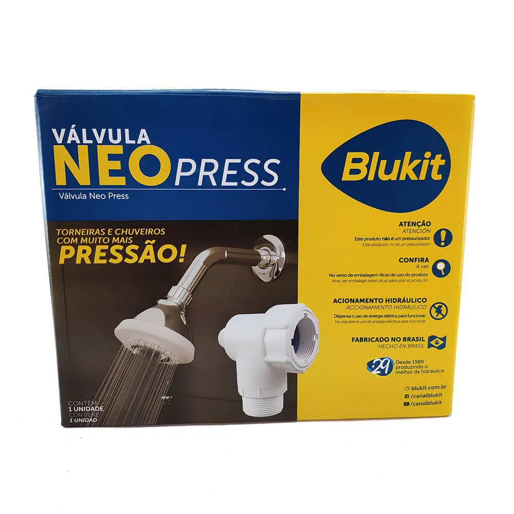 Válvula Neo Press - BLUKIT