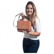 Bolsa Feminina Linda Transversal Pequena Luxo