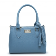 Bolsa Feminina Willibags com Alça Transversal Azul