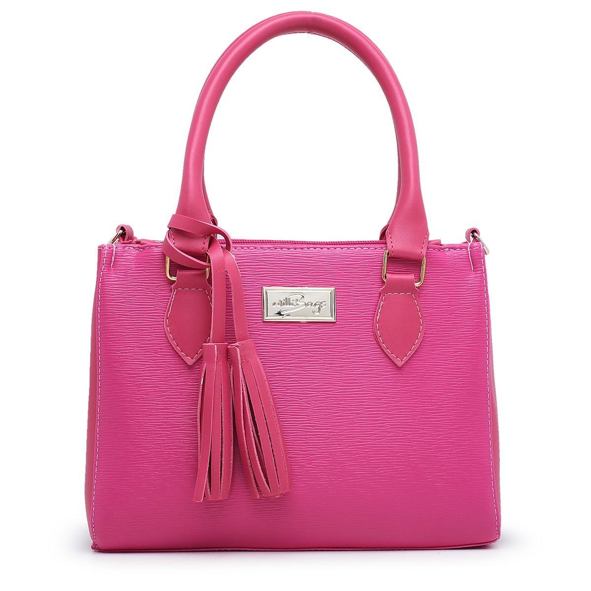 Bolsa Feminina Willibags com Alça Transversal Pink