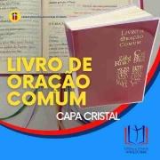LIVRO DE ORAÇÃO COMUM - CAPA CRISTAL