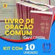 Livro de Oração Comum - Capa Cristal PACOTE c/10 unidades