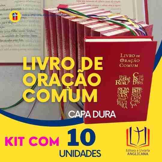 Livro de Oração Comum - Capa Dura PACOTE c/10 unidades