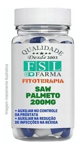 Saw Palmeto (Extrato Seco Concentrado) 200Mg - 120 Cápsulas