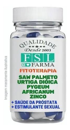 Saw Palmeto + Urtiga Dióica + Pygeum Africanum + Zinco - 120
