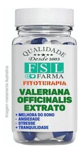 Valeriana Officinalis 100Mg (Extrato Padronizado)