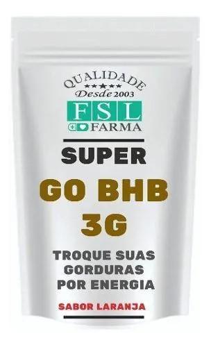 Go Bhb (beta Hidroxibutirato) 3g - 30 Doses