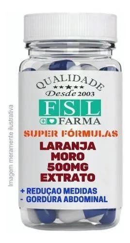 Laranja Moro 500mg - Emagrecedor - 60 Cápsulas