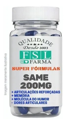 Same 200Mg - 60 Cápsulas