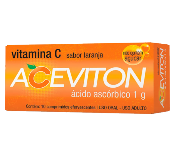 Aceviton 1g com 10 comprimidos - Cimed