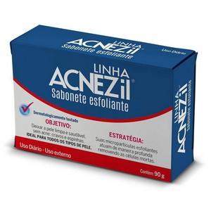 Acnezil Sabonete Esfoliante 90g - Cimed