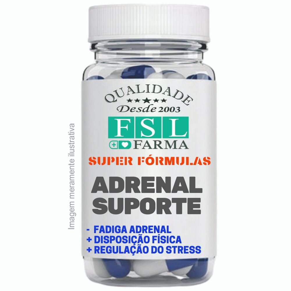 Adrenal Suporte Anti-Fadiga Adrenal